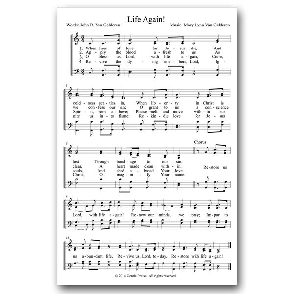 Congregational Sheet Music